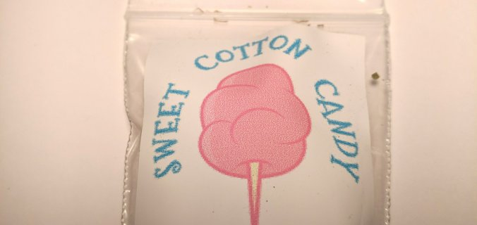 Sweet Cotton Candy canapa legale bustina