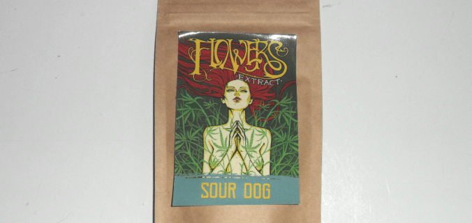 Bustina di canapa legale Sour Dog di Flowers Extract