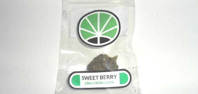 Bustina di canapa legale Sweet Berry di Just Bob