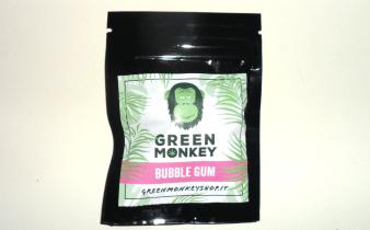 Bustina di canapa legale Bubble Gum di Green Monkey