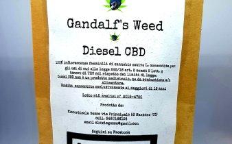 Confezione canapa legale Gandalf's weed