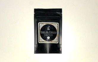 Bustina nera di cannabis light Classico di Erba del Chianti