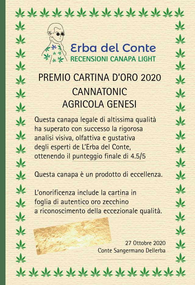 certificato agricola genesi