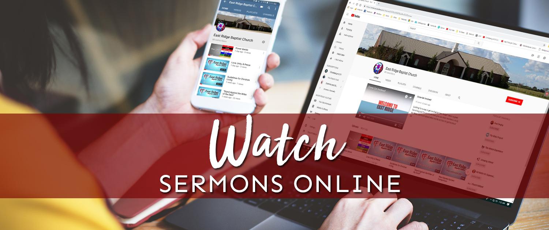 Video Sermons | East Ridge Baptist Church