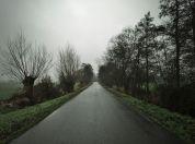 Een donkere landweg, 't Faan