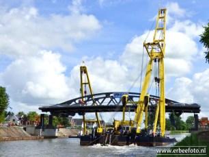 20170715 - Plaatsing Tafelbrug Zuidhorn 57