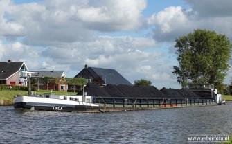 Orca - vrachtschip van Starkenborghkanaal