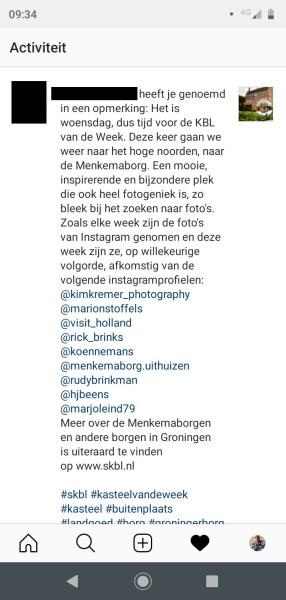 Foto ongevraagd overnemen instagram