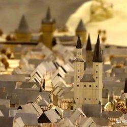 Goslar Kaiserpfalz Maquette Oude Stad