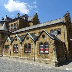 SChoolgebouw Altstadt Goslar, De Harz, Duitsland