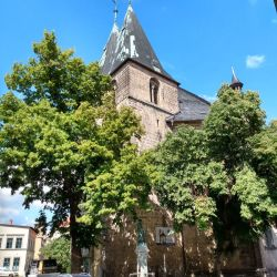 St. Blasii, Altstadt Goslar, De Harz, Duitsland