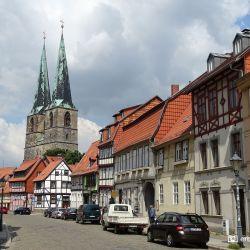 St. Nikolai Kerk, Altstadt Goslar, De Harz, Duitsland