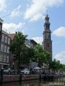 Westertoren, Grachten, Amsterdam (rondvaart Lovers)