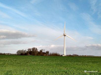 Windmolen bij Warfhuizen