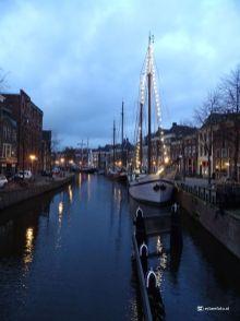 Groningen in Lockdown Lage der A verlichte schepen