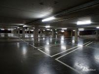 Groningen in Lockdown - uitgestorven parkeergarages