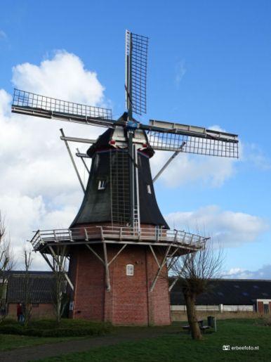 Udema's molen. Bouwjaar. 1868, Ganzedijk