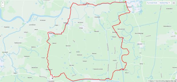 2021-04-18 Route Hekkum Hogeland