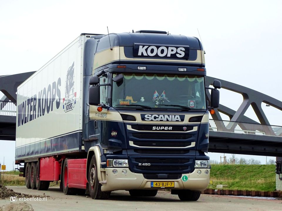 Wolter Koops Transport Scania Aduard Loswal