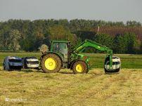 Boeren Kuilgras binnen halen (Den Ham) 01