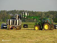 Boeren Kuilgras binnen halen (Den Ham) 02