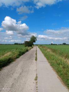 Langs de weg - richting Oldehova