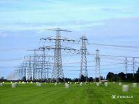 Electriciteitsmasten Lagemeeden