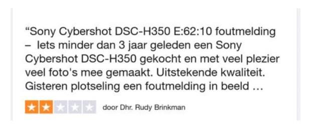 dsc-h350 foutmdsc-h350 foutmelding productiefout trustpilot reviewelding productiefout