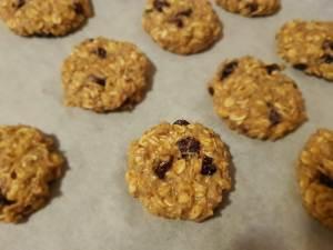 cookies cu fructe uscate