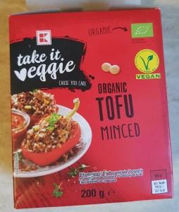 tofu minced Kaufland