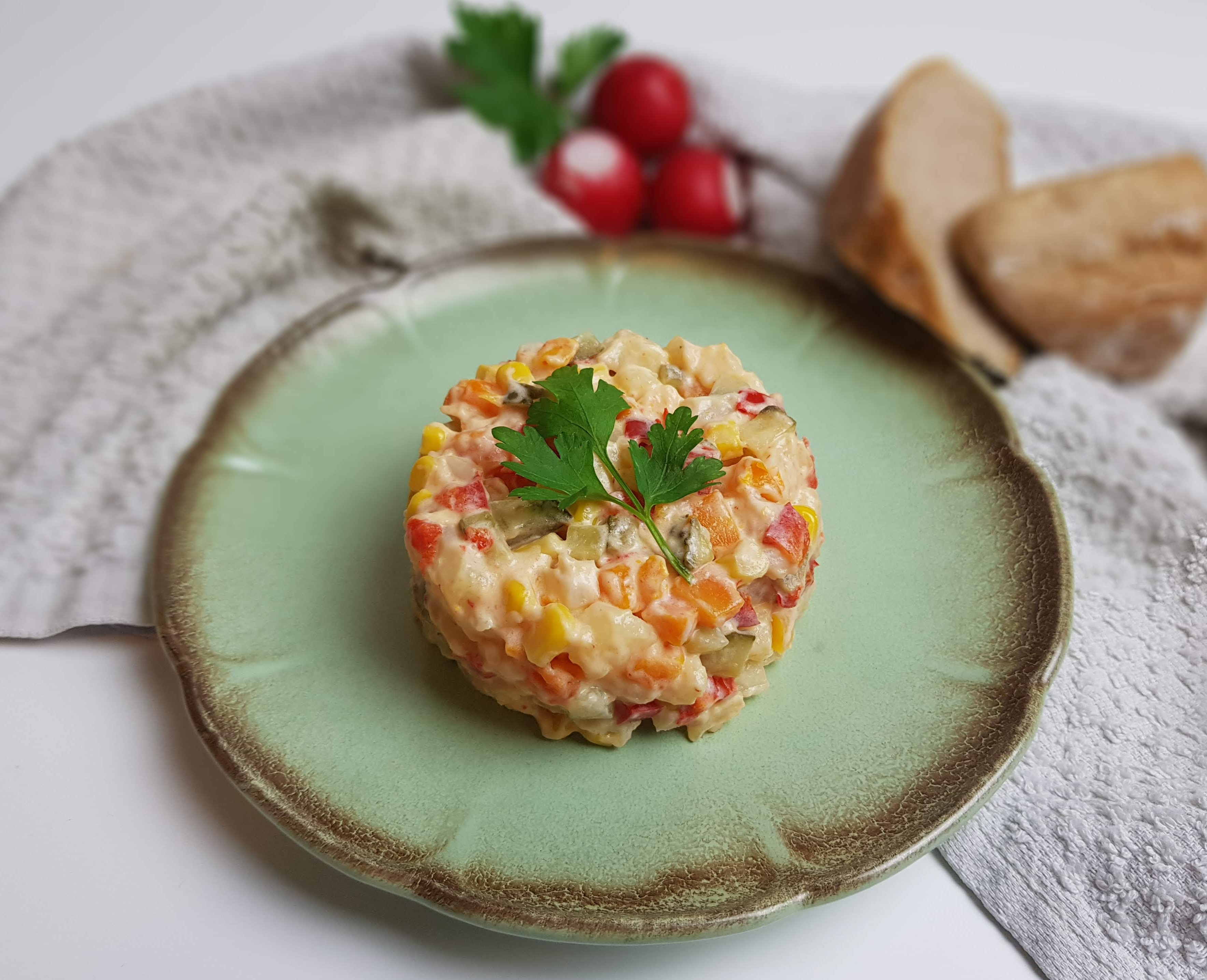 salata de boeuf vegana