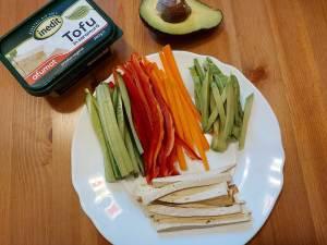 ingrediente sushi vegan