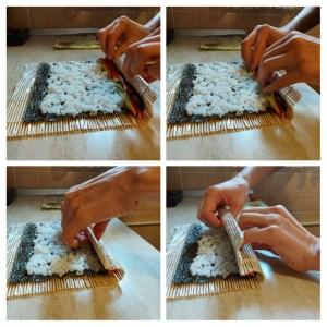 tehnica rulare sushi