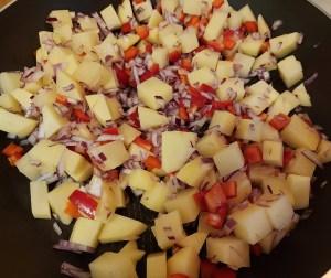 legume in tigaie