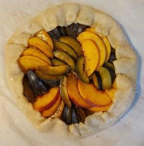 tarta rustica vegana