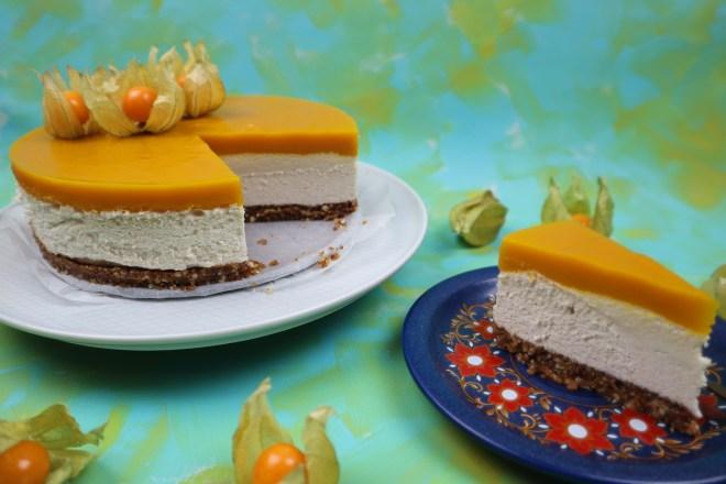 cheesecake vegan caju