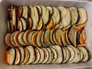 legume pentru ratatoiulle in tava