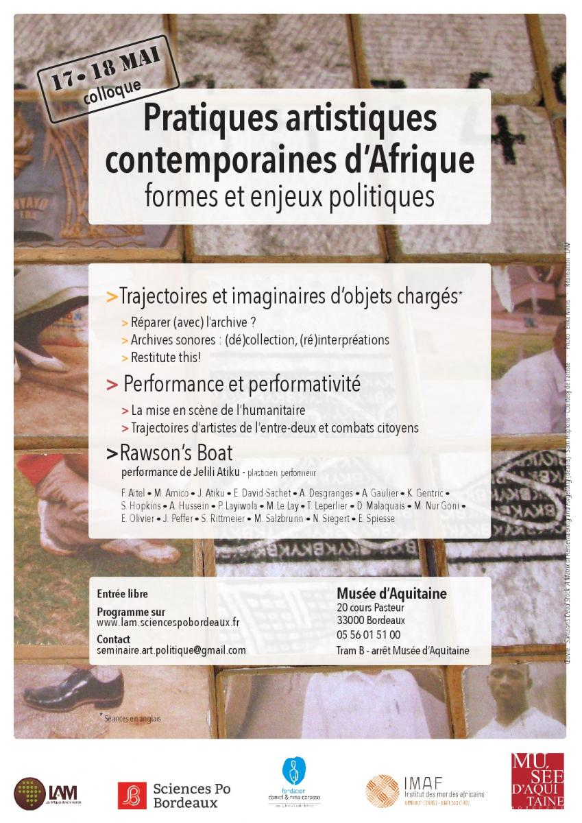 African Performances at Musée d'Aquitaine Bordeaux