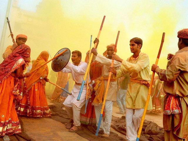 Lathmaar Holi Celebration