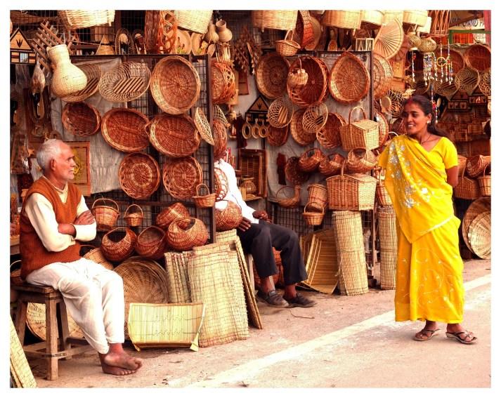 Varanasi shopping bazaars
