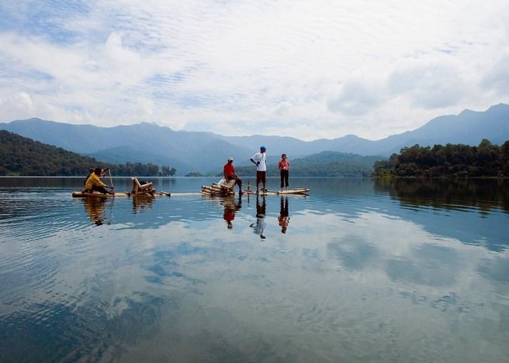 Bamboo Rafting Wayand