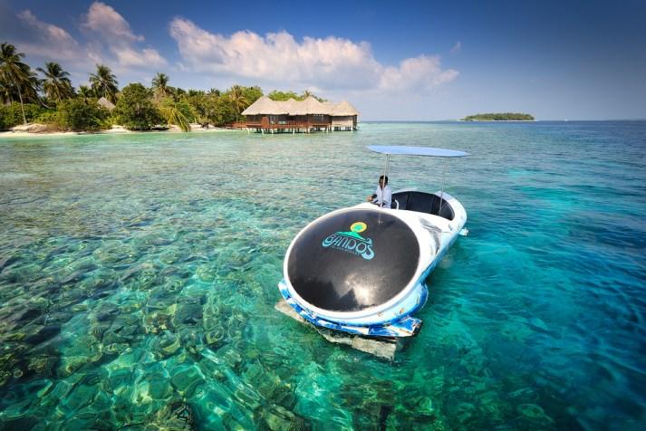 Glass Bottom Boat Andman