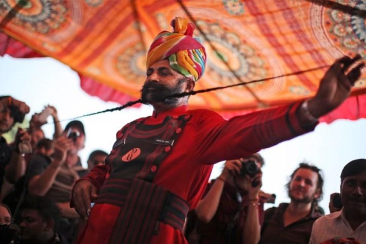 Moustache Competition - Rajasthan Pushkar Fair