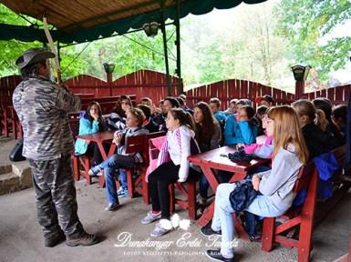 Íjászat Előadás Erdei iskola