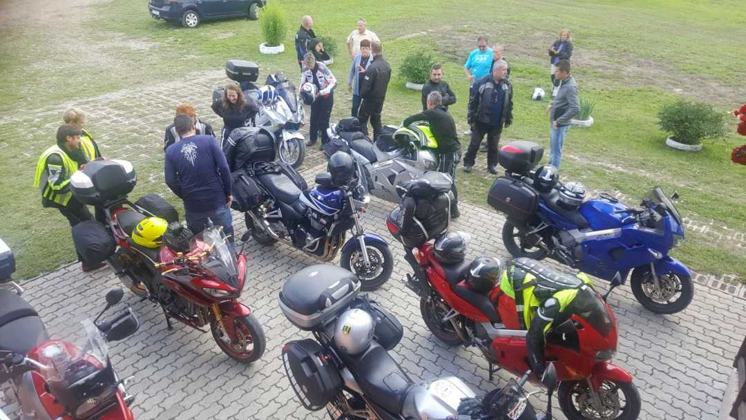 Motoros találkozó