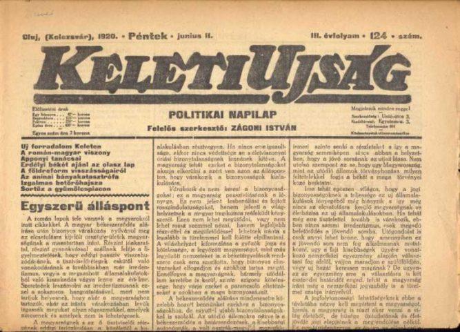 keleti újság
