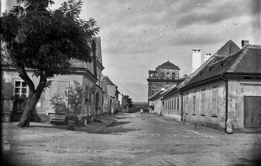 A Fogarassy utca ahol Cserni évtizedeken keresztül lakott