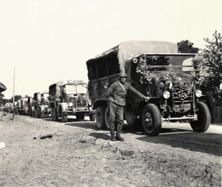 Bevonulás 1940