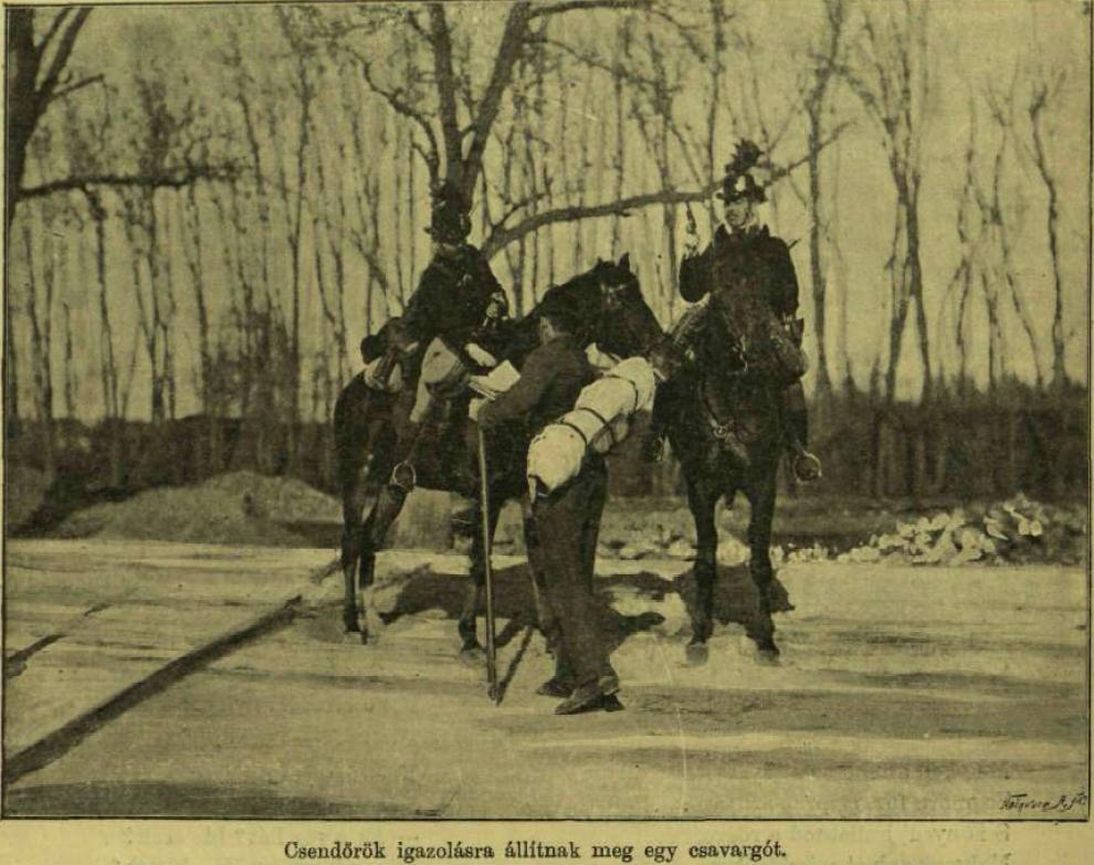 A dualizmus kori Magyar Királyi Csendőrség kialakulása