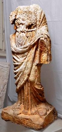 A XX. század közepén felfedezett Fortuna szobor (ubi erat lupa adatbázis - open access)